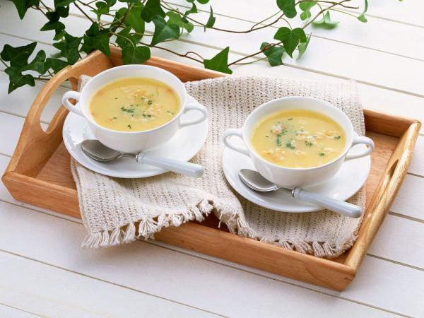 简单生活,两碗汤