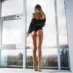 性感大美腿美女手机壁纸