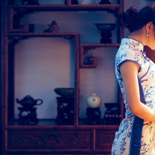 中国国粹旗袍,真漂亮