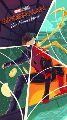 《蜘蛛侠:英雄远征》帅气壁纸