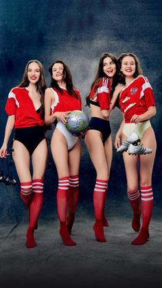 俄罗斯足球宝贝来了!